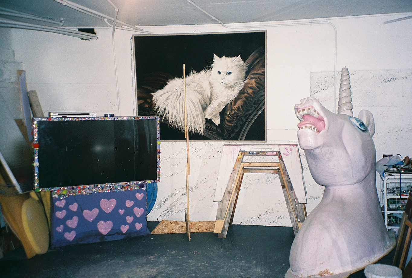 Tina's studio. Photo by Kerri O'Malley