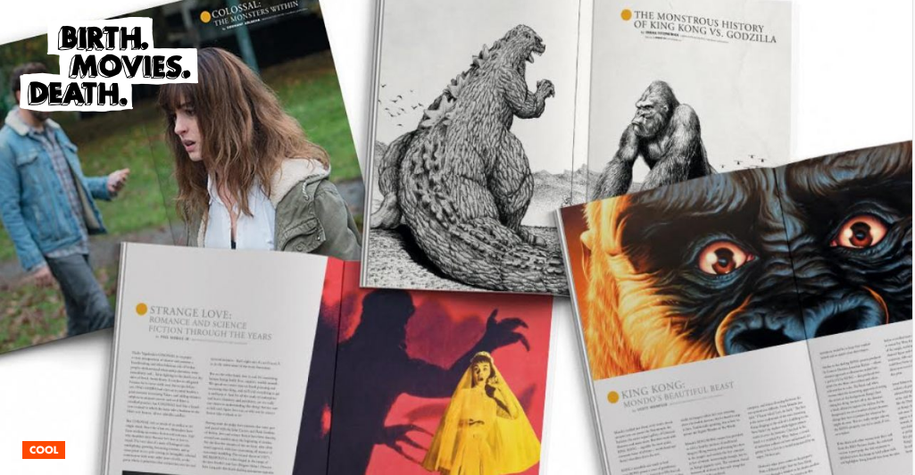 Birth.Movies.Death. also produces a magazine. Their Planet of the Apes-themed issue is out now!